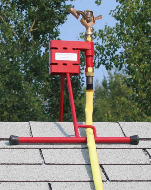 Roof Sprinklers Amp Orbit 57069 Sprinkler System Hard Wired