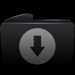 folder_black_download