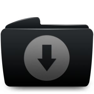 folder_black_download
