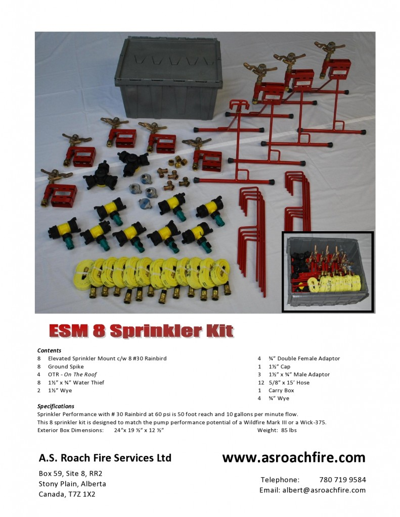 ESM8 Kit Flyer February 2012